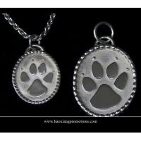 Quality Round Paw Dog Pet ID Tags Disc Dog tag or Cat tag Engraved Custom LOGO for sale