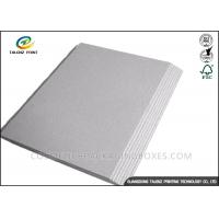 Buy cheap Mixed Pulp Laminated Packaging Materials Grey Board With Good Stiffness from wholesalers
