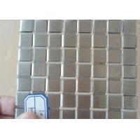 Quality Decorative Flat Wire Mesh Stainless Steel Plain Weave For Exhibition Hall for sale