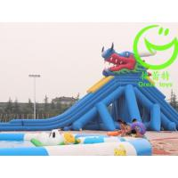 Buy High Quality giant inflatable pool slide for adult with warranty 48months GTWP at wholesale prices