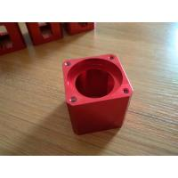 Buy High-precision Red Color Anodized CNC Machining Aluminum Industrial Parts at wholesale prices