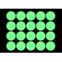 Non-Toxic Photoluminescent Adhesive Glow In The Dark Tape Dots for sale