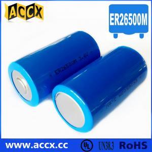 Quality ER26500M 3.6V 6500mAh high power type lisoci2 battery for sale