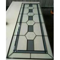 """Quality patina caming decorative door glass 1"""" thickness for sale"""