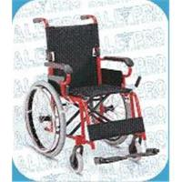 Quality Aluminum Fixed Armrest and Footrest wheelchair for sale
