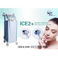 Quality SSR SHR E-Light IPL RF For Painless Hair Removal / Skin Treatment 1-26J/cm2 for sale