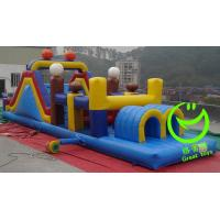 Buy New products inflatable obstacle course for sale with 24months warranty GT-OBS at wholesale prices