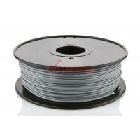 Quality 1.75mm ABS 3D Printer Filament Gray 1KG / Spool , 3D Printer Material for sale