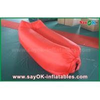 Quality Inflatable Beach Sleeping Air Bag Camping Lying Bag Easy Opening Nylon Material for sale