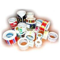 Buy Waterproof Printable Adhesive Labels , Color Printed PVC Plastic Sticker Sheet at wholesale prices