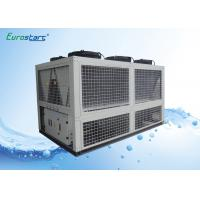 Quality 424KW Air Cooled Water Chiller Air Cond Chiller Adjustable Old Water Temp 72.9 CMH for sale