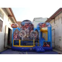 Quality The Avengers 5 in 1 inflatable bouncer for sale