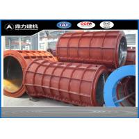 Quality Customized Diameter Concrete Pipe Mold For Water Pipe Outer Casing for sale