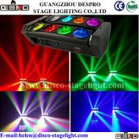 Quality New Interlaced 8*10W Beam Effect Spider Light LED Disco Moving Heads Light for sale