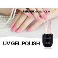 Quality Free Samples ECO-Friendly Low Smell Soak Off Healthy Resin Material UV Gel Polish for sale