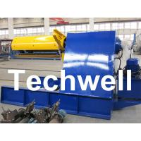 Quality Custom 5 - 20 Ton Curving Machine Hydraulic Decoiler With Pneumatic Damp Pressing Arm for sale