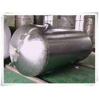 Buy Customized Color Horizontal Air Receiver Tanks Carbon Steel / Stainless Steel at wholesale prices