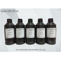 Quality Original Flexible Soft LED UV Ink Vibrant With Epson DX4 DX5 DX7 Printhead for sale