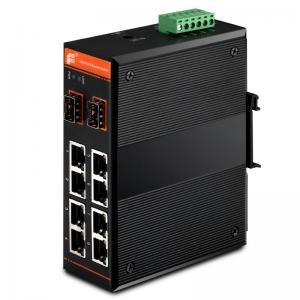 Quality Gigabit Ethernet PoE Switch,managed,8x10/100Base-TX + 2x1000Base-FX SFP / 8xPoE for sale