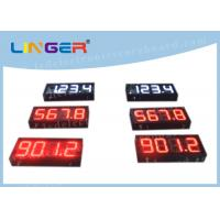 Quality 200mm Height Gas Station Led Signs , Led Fuel Price Signs Various Styles for sale