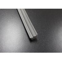 Quality Gray Long Side EPDM Rubber Extrusion Embedded , Window Weather Stripping for sale
