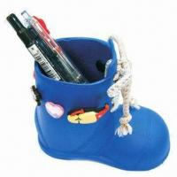 Quality Pen Holder, Made of Eco-friendly Silicone, Durable, Various Sizes, Colors, OEM Orders are Available for sale