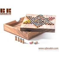 Quality Chinese Checkers - wooden board game wood board game strategy game wood game for sale