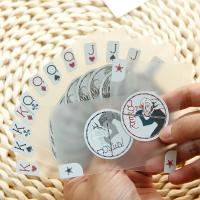China Silver Foil Stamping Transparent PVC Plastic Cards Translucent 0.3 - 0.76 Mm Thickness on sale
