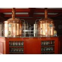Quality Micro Hotel Beer Factory Machine Small Scale Brewing System 1000L 3mm Thickness for sale