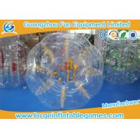 Quality Human inflatable bumper bubble ball Customized Size Loopy Hamster Football for sale