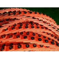 Quality Open Type T Link Belt , PU Low Stretch Adjustable V Belts No Lubrication Required for sale
