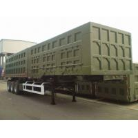 Quality 2014 Year Second Hand Semi Trailers With 3 Axles And 12 Pieces Tires for sale