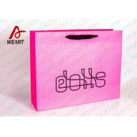 Quality Funny Logo Printed Personalized Paper Gift Bags For Party 38 X 18 X 25cm for sale