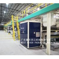 China Banana Box/Mineral Water Carton/ Wire Cable Package/Biscuit  Corrgated Making Line for sale