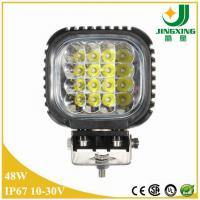 Quality 48w led work light 12v 4 inch led work light 6000k led work light for trucks for sale
