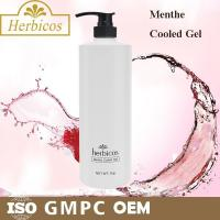 Quality 1000ml natural organic Menthe Cooled Skin Gel Cold Mask for keeping calm for sale