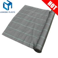 Quality Black 100g/m2 Woven Geotextile Fabric Weed Mat for sale