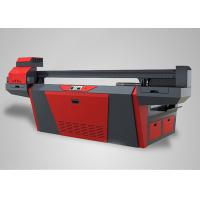 Quality Custom Large Format Wood Digital Printer Double 4 Color 2500mm x 1300mm for sale