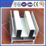 Quality cheap price aluminium profile for aluminium vertical sliding windows frame design for sale