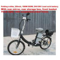 Buy Folding Electric Bike( E-TDE06D, 20inch,Complete at wholesale prices