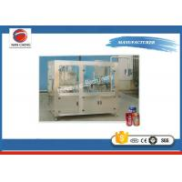 Quality Full Automatic Industrial Canning Equipment , Rotary Beverage / Beer Canning Machine for sale