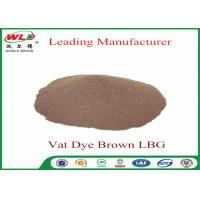 Buy Synthetic Textile Reactive Dyes Vat Brown Lbg Textile Dyes And Chemicals at wholesale prices
