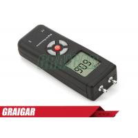 Buy Dual Input Digital Differential Manometer Pressure Guage 2psi Large LCD at wholesale prices