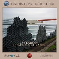 China Hot dipped galvanized Scaffolding Tube for mast climber scaffold on sale