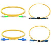 Quality High Reliability Fiber Optic Accessories / FTTx Fiber Optic Patch Cord for sale