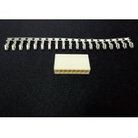 Buy Wire Connector Terminals Pitch 3.96mm With Brass / Phosphor Bronze Contact for at wholesale prices