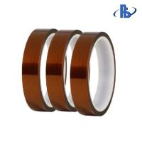 China High Viscosity Heat Resistant Polyimide Tape , Anti Static Silicone Adhesive Tape for sale