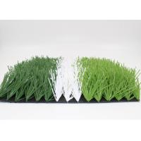 China High Density 50mm Soccer Field Artificial Turf Non - Abrasive UV Resistance on sale
