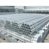 Quality STK400 / STK290 BS JIS ASTM Galvanized carbon steel welded pipe For gas / oil for sale