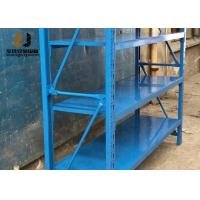 China Multi Layer Cold Rolled Steel Pallet Rack Shelving Customized Size on sale